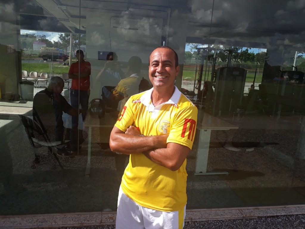 Ailton Ferraz dirigiu o jacaré no Candangão 2018 e no Brasileirão Série D - Foto: Rener Lopes/Agência EB