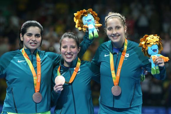 Brasil venceu a Austrália por 3 sets a 2 - Foto: Fernando Maia/MPix
