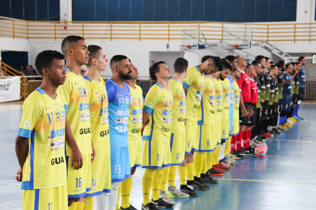 Brasília Futsal é o atual campeão candango de futsal e poderá representar o DF na Liga Futsal 2019 - Foto: Divulgação/Brasília Futsal