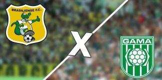 Gama x Brasiliense