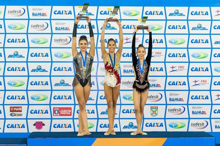 Ana Luisa sagrou-se campeã brasileira, com 54 pontos - Foto: Divulgação