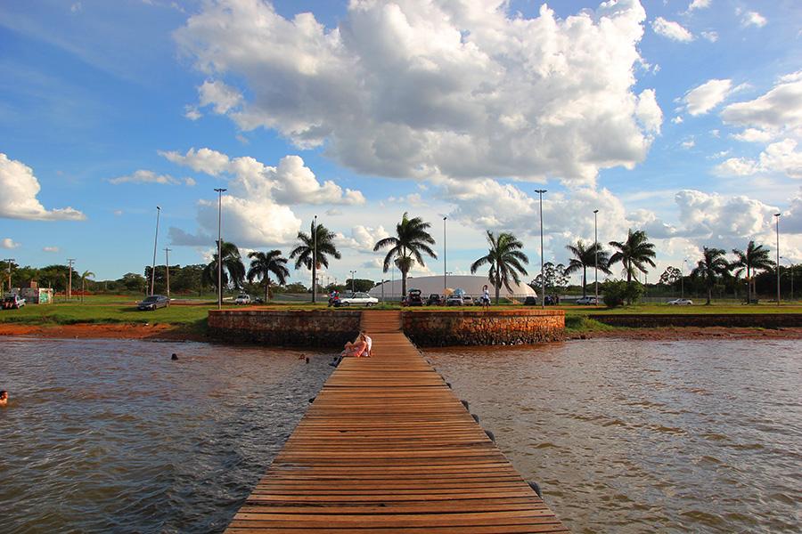 Concha Acústica de Brasília receberá prova de Aquathlon no próximo fim de semana - Foto: Divulgação/viagemcriativa.com.br