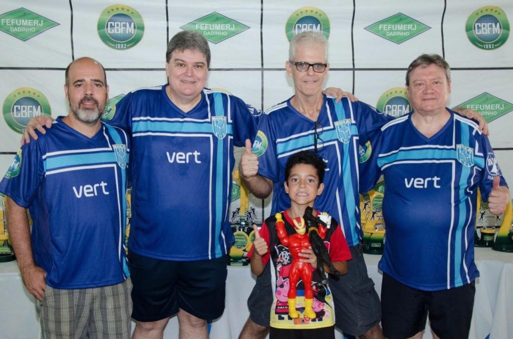 Equipe da AABB foi a melhor equipe do campeonato fora do Distrito Federal - Foto: Divulgação