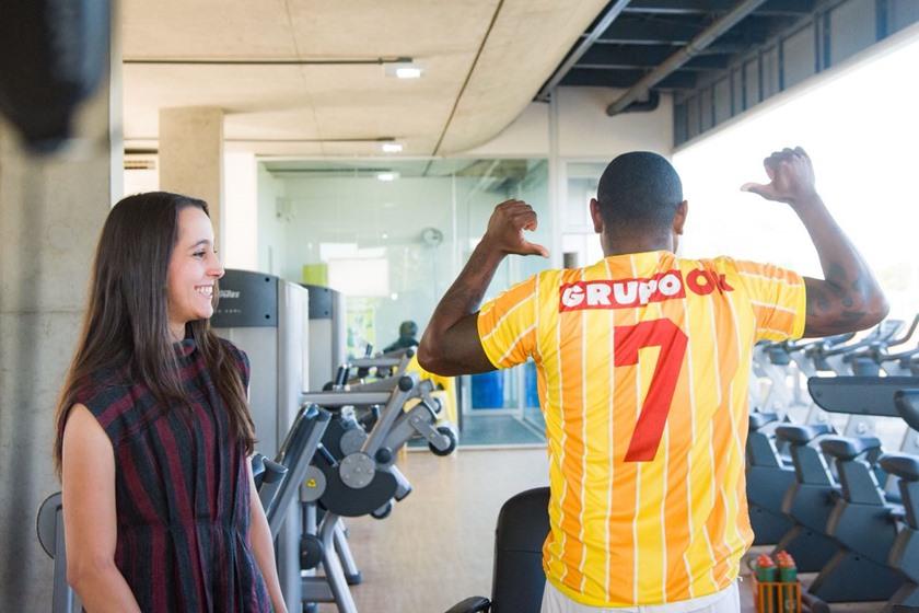 Jobson escolheu vestir a camisa 7 do Brasiliense a partir da temporada 2019 - Foto: Hugo Barreto/Metropoles