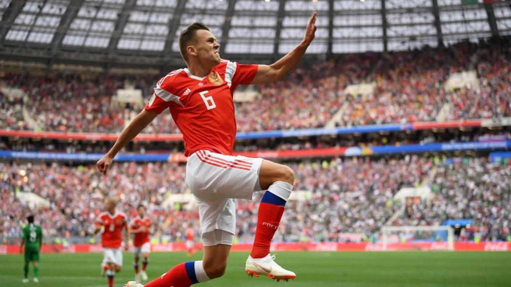Cherysaev marca duas vezes e Rússia goleia Arábia Saudita na abertura da Copa do Mundo - Foto: Getty Images/FIFA