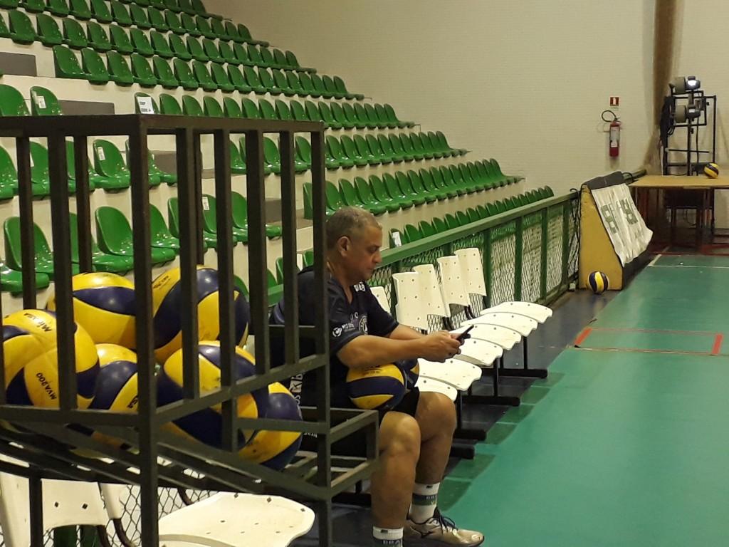 Sérgio Negrão será o técnico do Brasília Vôlei na temporada 2017/18 após a saída de Anderson Rodrigues para o voleibol suíço - Foto: Rener Lopes/Agência EB