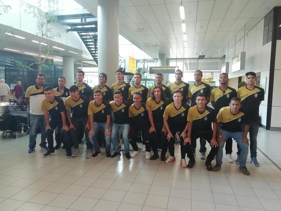 Time de juniores do Ceilândia está na Holanda para disputar torneio internacional, antes da largada no Candangão de Juniores - Foto: Divulgação/Karel Stegeman Toernooi