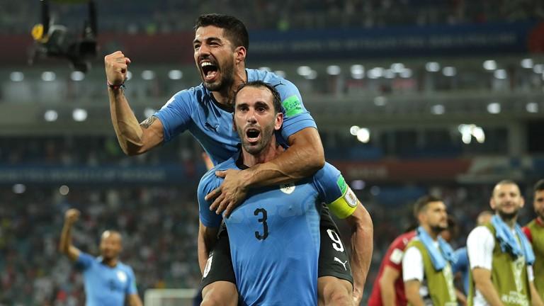 Uruguai vence Portugal com gol de Cavani e enfrenta a França nas quartas de  final da Copa do Mundo - Foto  Getty Images FIFA 67fe377621056